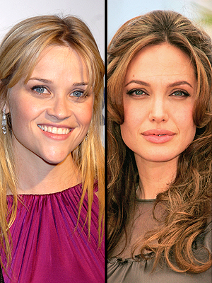 Reese Witherspoon y Angelina Jolie