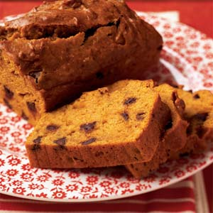 Chocolate Chip Pumpkin Bread from Cooking Light
