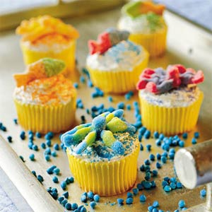 Lemonade Cupcakes from Southern Living