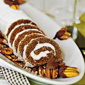 Pumpkin Roll from Southern Living