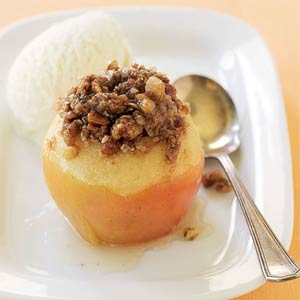 Apple-Crisp Baked Apples from Sunset