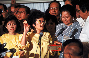 Corazon Aquino 1933-2009: The Saint of Democracy