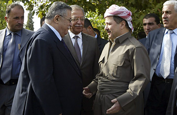 Jalal Talabani Massoud Barzani