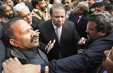 Image result for nawaz sharif arrested