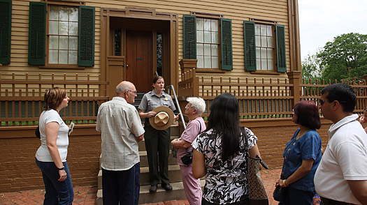 Reporters Notebook: Visiting Lincolns Springfield