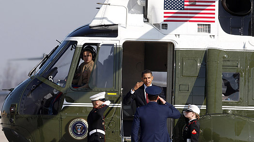 How a New Fleet of White House Choppers Spiraled Out of Control
