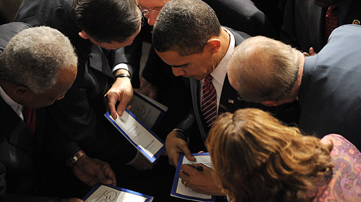 What the GOP Really Wants: Obamas Autograph