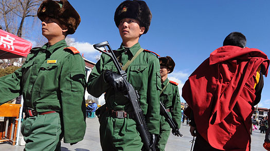 In Protest, Tibetans Refuse to Celebrate New Year