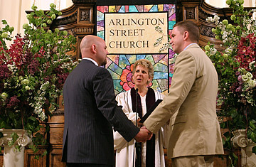 Image result for picture of Gay marriage in church