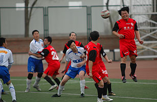 In Beijing Burbs, Chinese Soccer Gets Its Game On