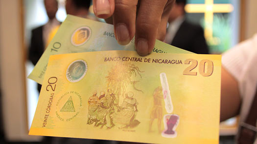 For Nicaraguans, New Currency Is a Hot Potato