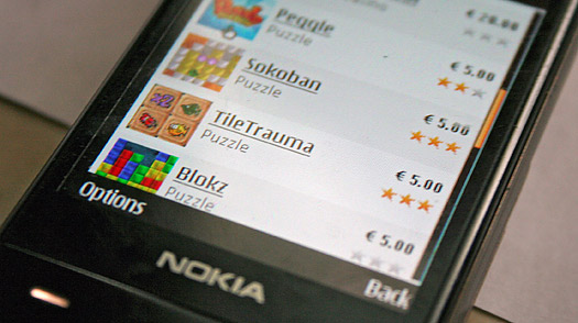 Nokias Application Store Faces Apple Dominance