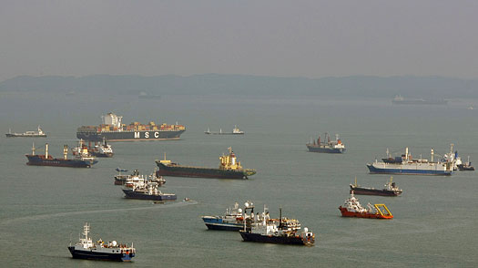 Plunge in Global Trade Is a Boon for Singapore Ship Suppliers