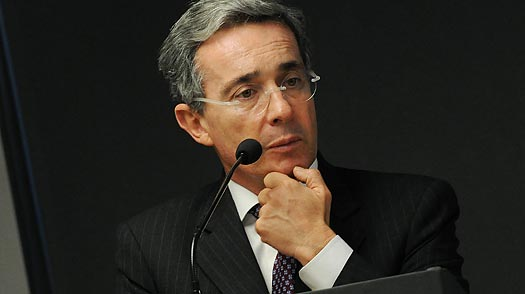 Colombias Uribe: Keeping Up with Hugo Chavez