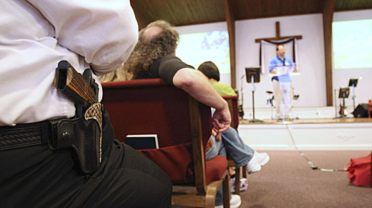The Day that Guns Came to Church in Louisville