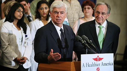 As Congress Starts Writing Health Reform, Kennedys Absence is Felt