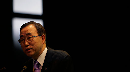 Ban Ki Moon Leaves Burma Disappointed