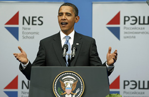 Obama Moscow Speech: President Gets Personal on Democracy in Russia