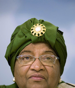 In Liberia, President Johnson Sirleafs  Past Sullies her Clean Image