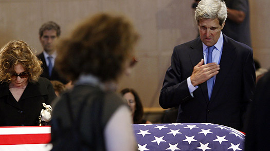 Kerry Prepares to Protect Kennedys Legacy