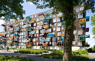 Wozoco Apartments Amsterdam Top 10 Precarious Buildings
