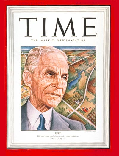 The 20 Most Influential Americans of All Time - Henry Ford