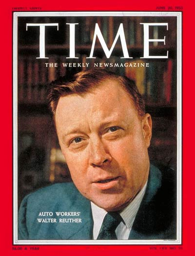 Image result for pictures of walter reuther