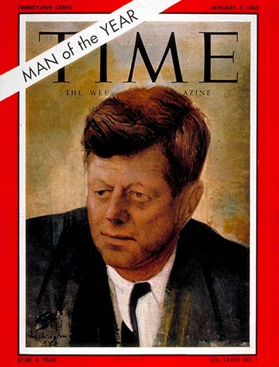 Image result for time magazine man of the year 1960