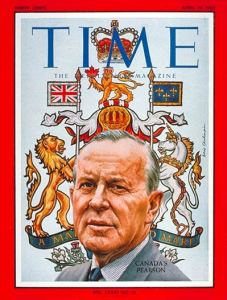 Lester Pearson on the cover of TIME, 1963.