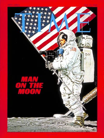 TIME Magazine Cover Neil Armstrong July 25 1969 NASA