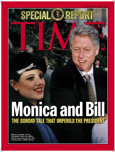 Image result for PHOTOS OF BILL CLINTON IN 1998