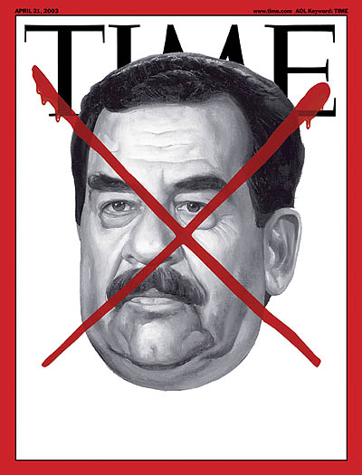 TIME Magazine Cover: After the Fall - Apr. 21, 2003 - Iraq - Saddam Hussein  - Middle East