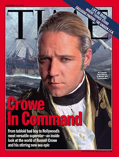 TIME Magazine Cover Crowe In Command Nov 10 2003