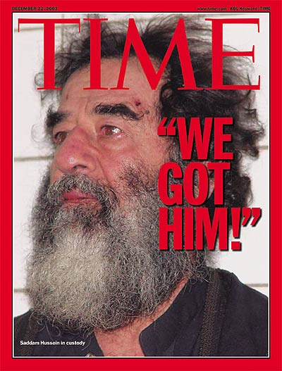 TIME Magazine -- Europe, Middle East and Africa Edition -- December 22,  2003 | Vol. 162 No. 24