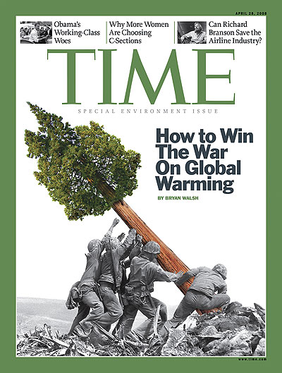 Time cover from April 28, 2008 - how to win war on global warming