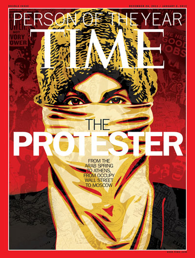 The Protester: TIME's 2011 Person of the Year