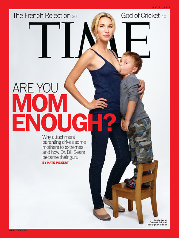 TIME Attachment Parenting Cover