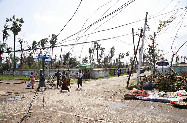 Damage in Bogalay