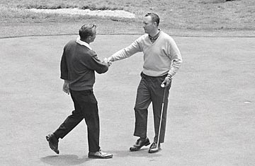 Billy Casper vs. Arnold Palmer