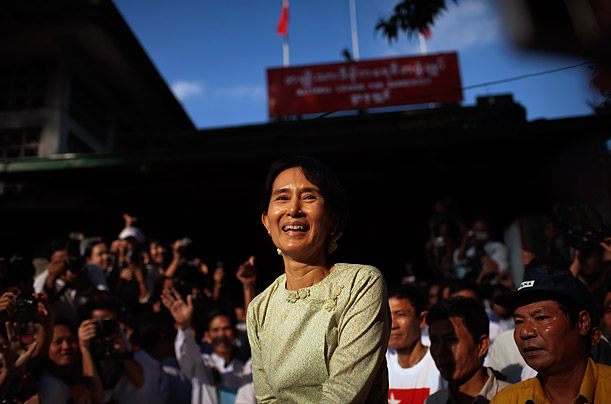 Burma's Aung San Suu Kyi Released from House Arrest