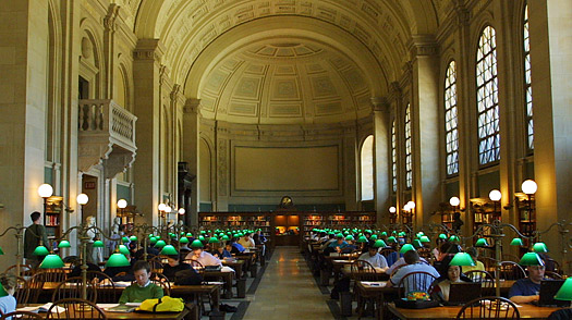 Image result for The Boston Public Library