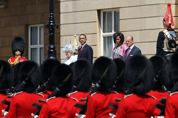 Barack Obama Queen Elizabeth II