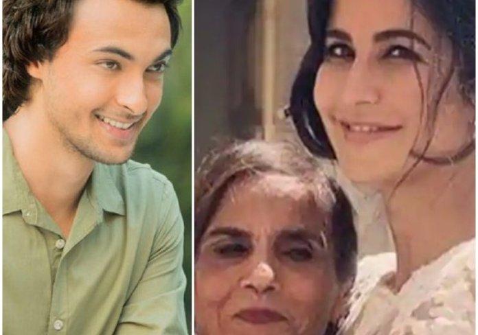 Katrina Kaif Saas Bahu pic with Salman Khan's mother. Aayush Sharma, Arpita Khan Sharma