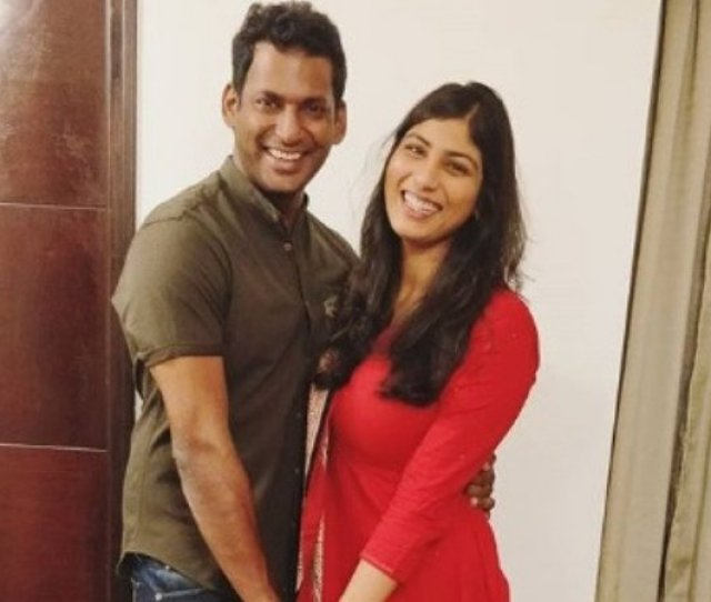 Just A Day After Vishal And Anisha Alla Reddy Made Their Relationship Official A Troll Alleged That Vishal Is Marrying Anisha For His Money