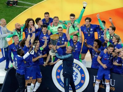 Image result for Eden Hazard bids farewell to Chelsea with two goals in Europa League final win over Arsenal