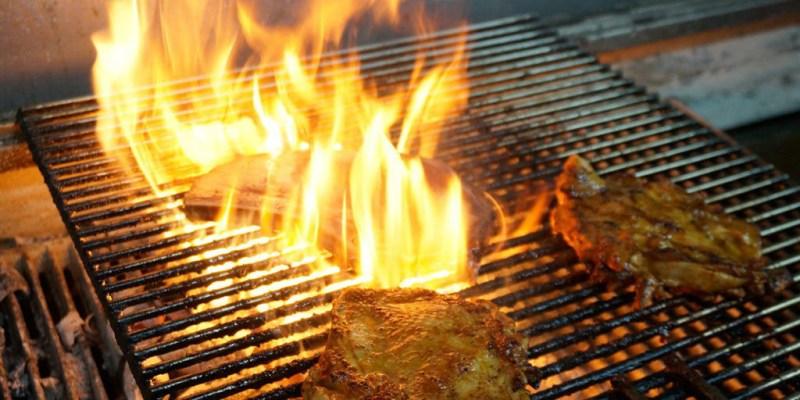 新莊美食|The Fire著火美式炭烤牛排-熟成戰斧牛排來戰勝你我的胃(邀約/新北/餐廳)--踢小米食記