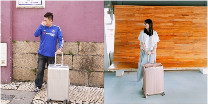 JIA.Traveler旅行的意義|時尚亮麗與實用並重出國好伙伴行李箱。王者榮耀PC鏡面鋁框運動款行李箱。浪漫樂章PC拉絲紋霧面行李箱(網路優惠在文末.廠商資料.邀約)--踢小米生活