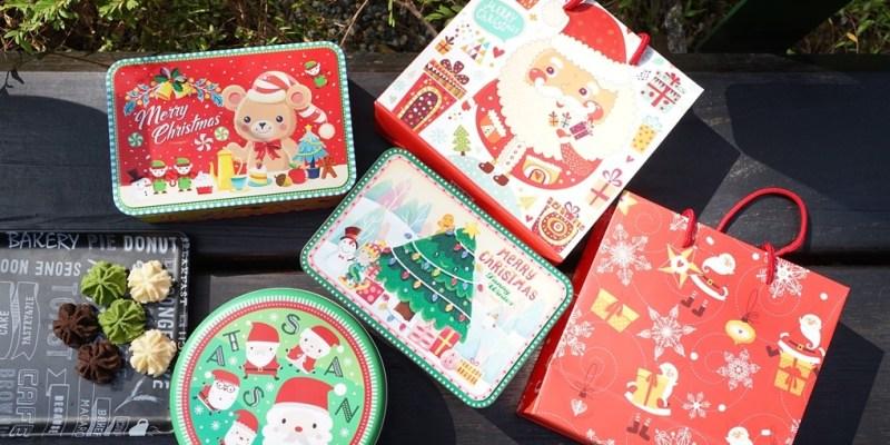 愛威鐵盒餅乾全新聖誕鐵盒要來巨城快閃囉!擠花曲奇餅小米有9折優惠(價格營業時間地址)--踢小米食記