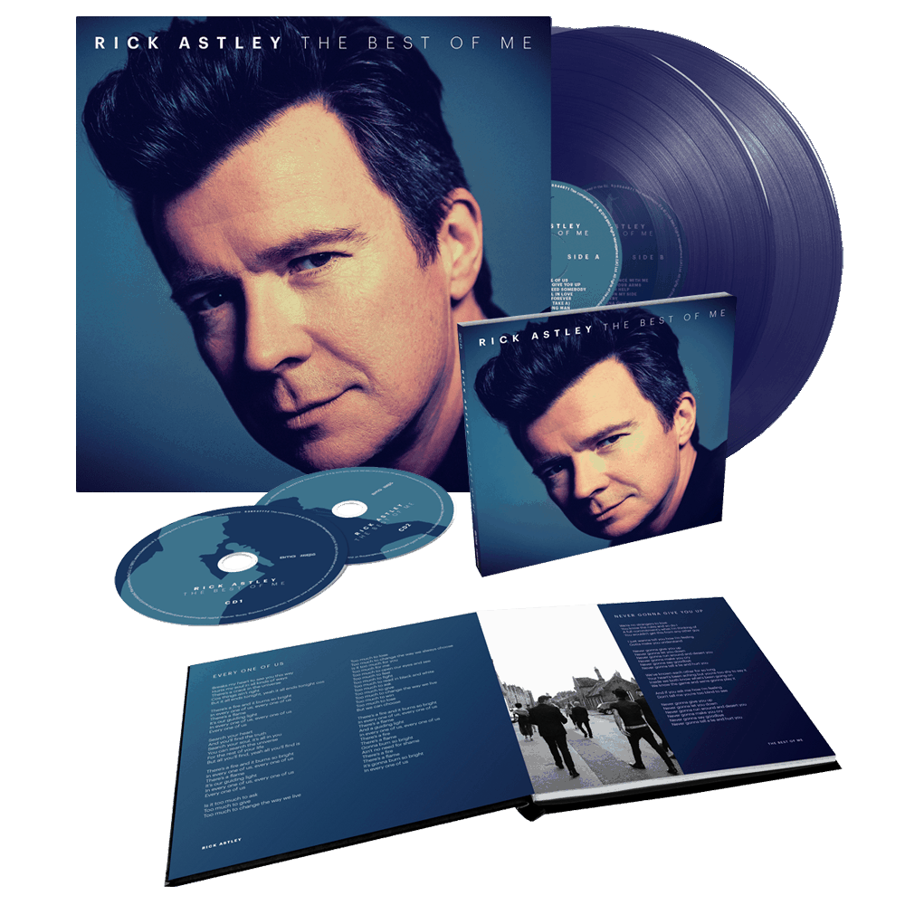 Rick Astley - The Best Of Me Deluxe 2CD + Limited Edition Clear ...