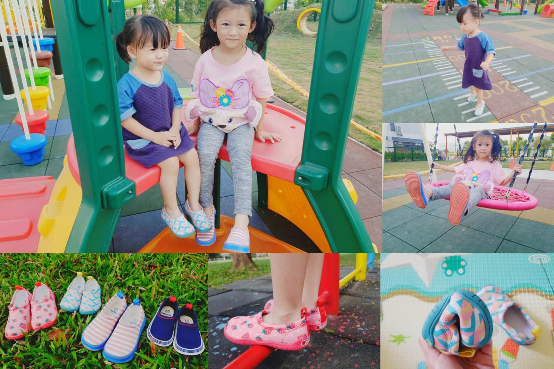 【團購】日本眾多媽媽一致推薦 SkippOn兒童休閒機能鞋 & 日本製Nicott五重珍珠紗方巾